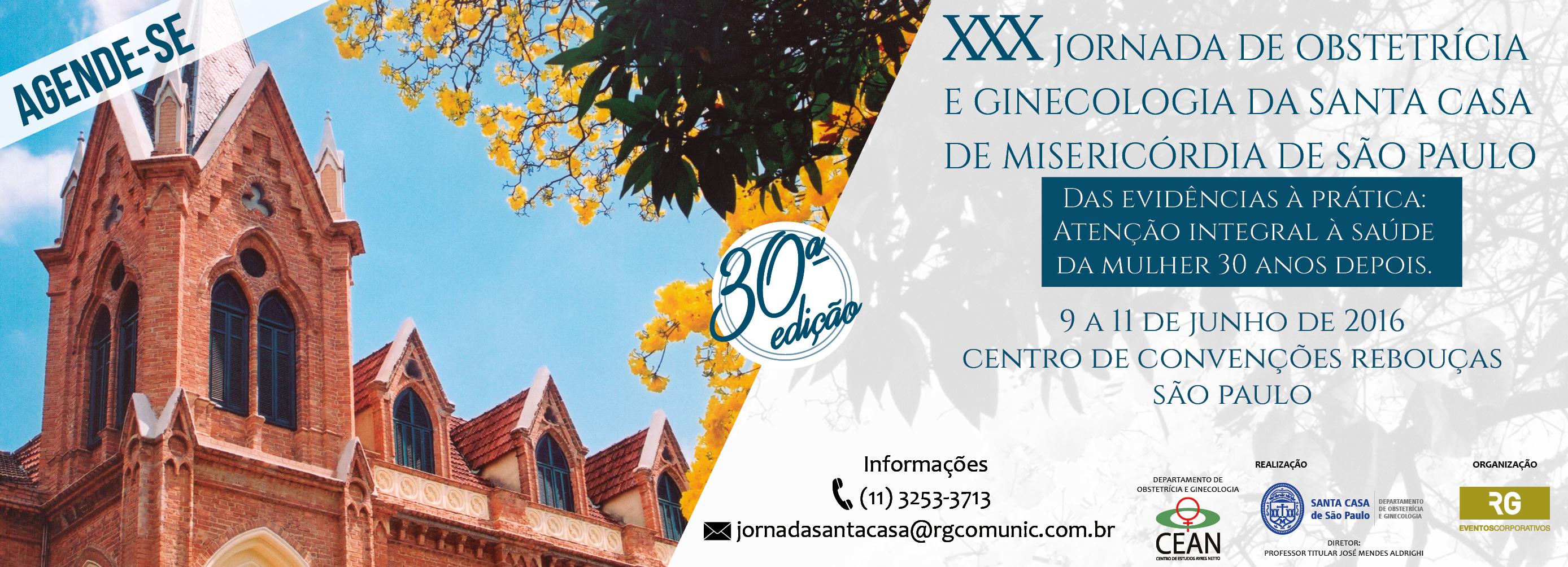 XXX Jornada da Santa Casa de S�o Paulo