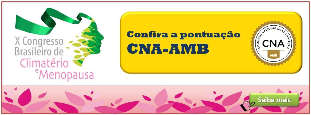X CONGRESSO - Pontuação CNA-AMB